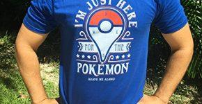just here pokemon shirt