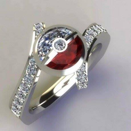 Pokemon wedding ring for