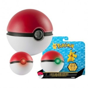 realistic pokeball toy with sound and lights